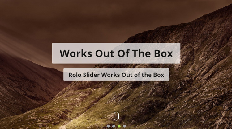 Rolo Slider Update 1.0.0 Has Been Released!