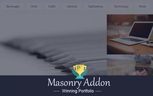 Winning Portfolio Masonry Addon