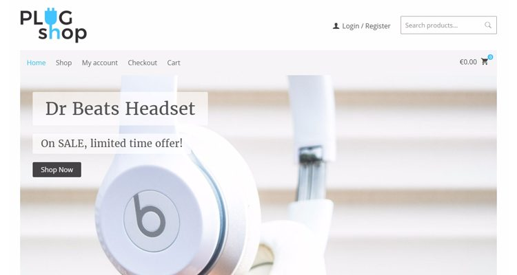 Plug Shop WordPress Theme WooCommerce   Pressfore